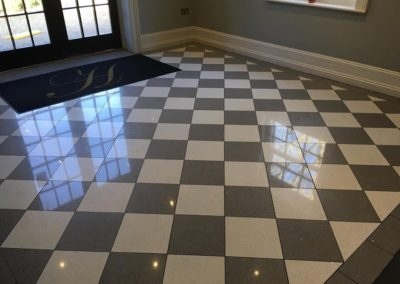 Poets House Quartz Floor